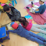 Practical activities in Reception S