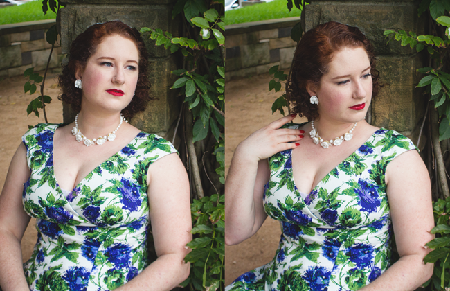 1950's vintage and summer inspired style | Lavender & Twill