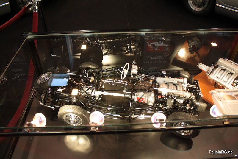 Rahmenmodel Mercedes 300SL