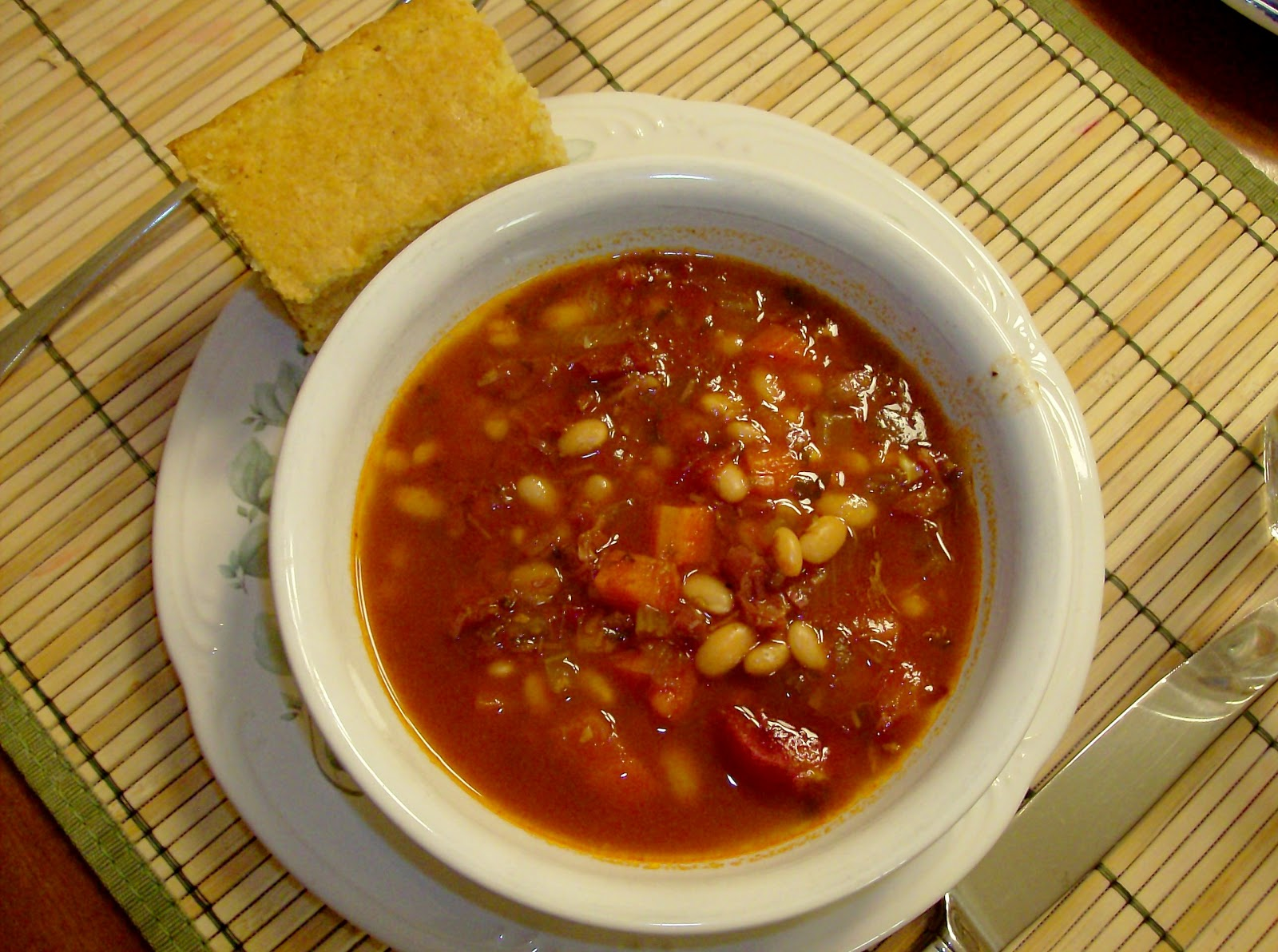 ... : Dijon Chicken vs. Ham and Bean Soup - 365 Days of Slow Cooking