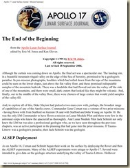 Apollo 17 Summary The Last Apollo Landing_01