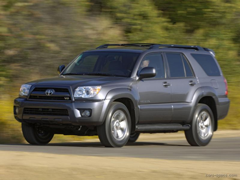 2008 toyota 4runner suv specifications pictures prices. Black Bedroom Furniture Sets. Home Design Ideas