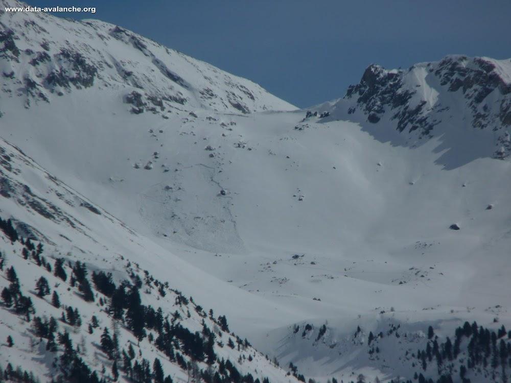 Avalanche Queyras, secteur Col Tronchet - Photo 1
