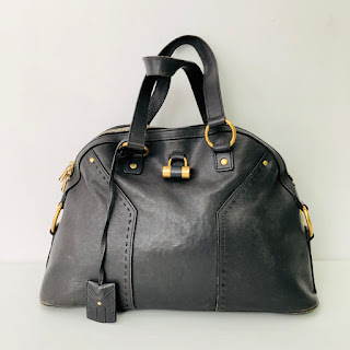 Yves Saint Laurent Leather Muse Shoulder Bag
