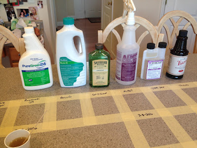 Cleaning Product Experiments 5