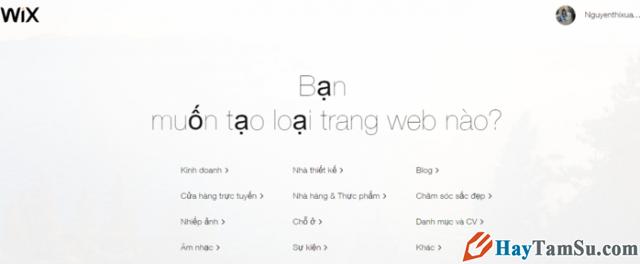 Hướng dẫn bạn đọc cách tạo Website miễn phí với Wix.com + Hình 5