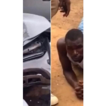 Car Washer Wrecks His Client's Car After Driving It To Buy Food