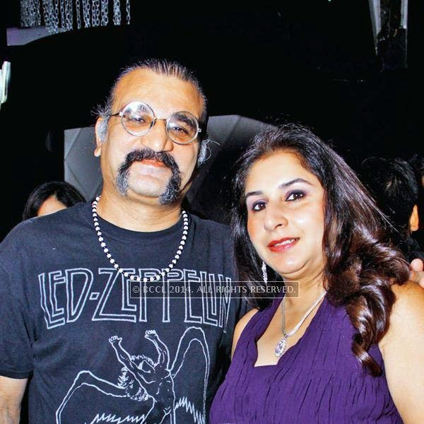 Subir and Anu Malik at Kajoli Sahgal's b'day party, hosted by her husband Mohit Sahgal at Club BW in the capital.