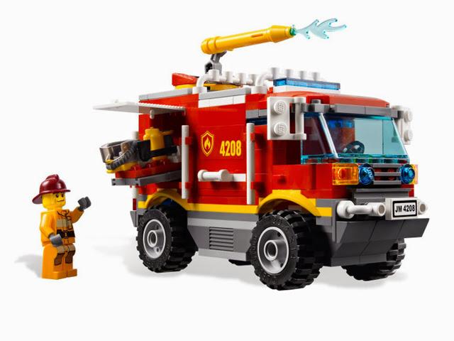 4208 レゴ シティ フォレストファイヤー4WDトラック