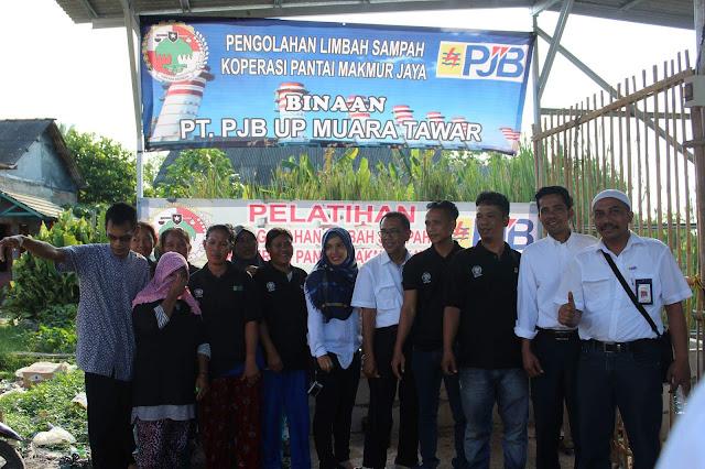 PJB Muara Tawar Sambangi Kelompok Binaan