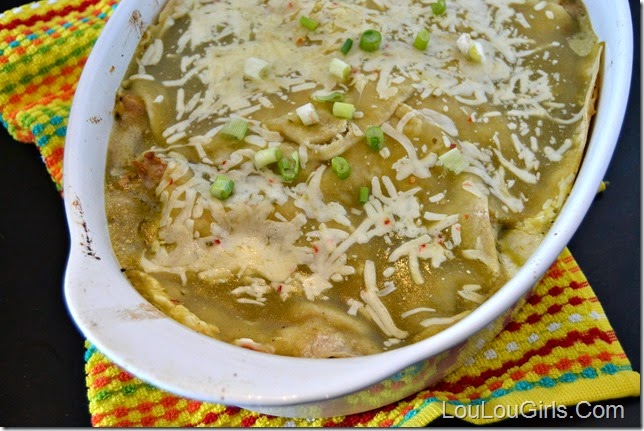 Green-Chile-Enchilada-Casserole