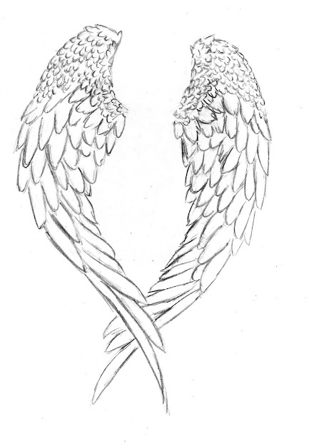 Angel Wings Coloring Pages  Az Coloring Pages