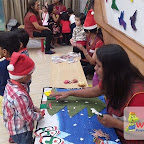 Christmas Celebration of Playgroup Evening Section at Witty World, Chikoowadi (2017-18)
