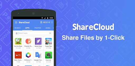 ShareCloud - Share By 1-Click for PC