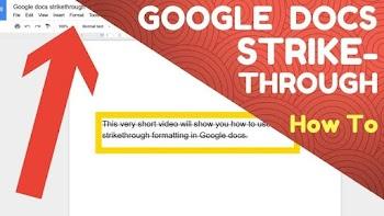 Metode Cepat & Mudah Untuk Menambahkan Coret Di Google Docs