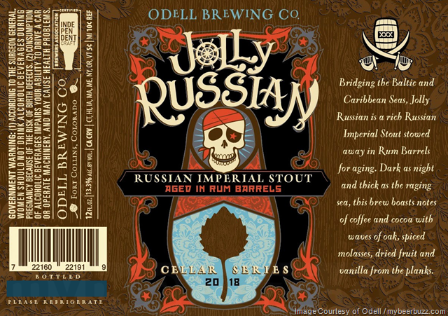 Odell Jolly Russian Coming To Cellar Series 2018
