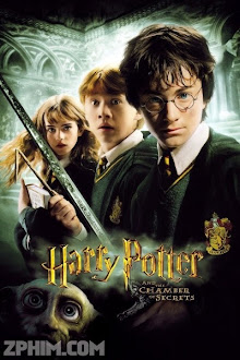 Harry Potter Và Phòng Chứa Bí Mật - Harry Potter and the Chamber of Secrets (2002) Poster