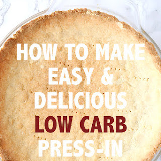 Easy Low Carb Press-In Pie Crust