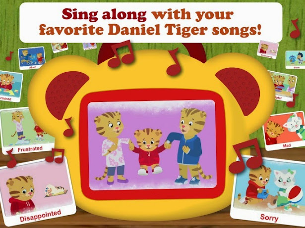 New PBS KIDS Daniel Tiger's Neighborhood App on iTunes