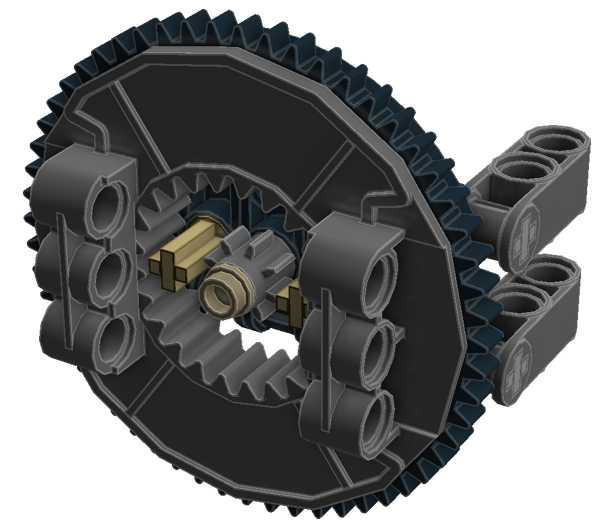 Planetary Geared Wheel 02