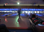 Bowling alley nirvana - it was Rock'n Bowl Night