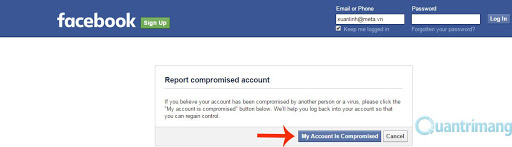 Cách lấy lại tài khoản Facebook bị hack