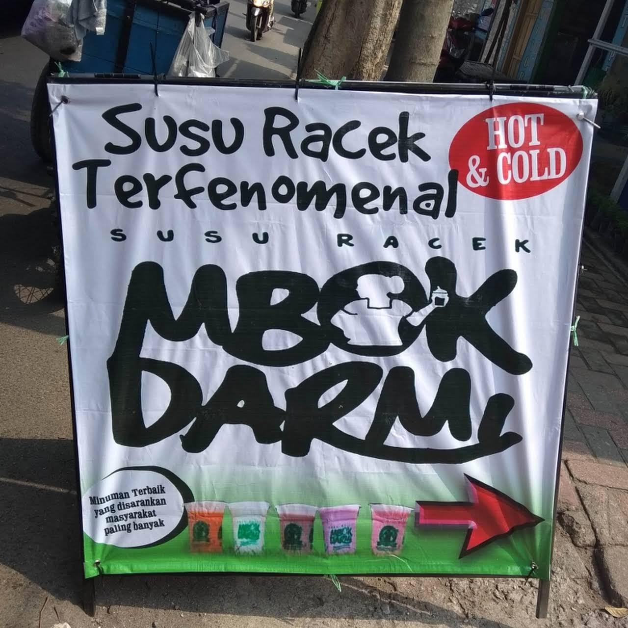 Keren Banner Minuman Susu - Erlie Decor