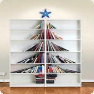 Libreria albero di natale