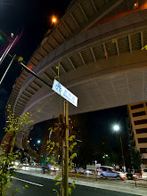 Photo: ■Today's Elevated Expressways This photo is taken by +Takahiro Yanai ! A view of Tokyo Metropolitan Expressway Central Circular Route (首都高速中央環状線) from Nishi-shinjuku JCT, is my favorite curve... :D 今日の高架道路をご紹介します。 前に撮ったやつですが、西新宿から抜けていくところです。 +Elevated Expressways  #marktokyo2012   #elevatedexpressways   #architecture #nightphotography   #nightshot