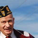 Duane Howletteteran, Korean War veteran, celebrates Veterans' Day in Frenchtown Friday. Photo by Katarina Gajic.