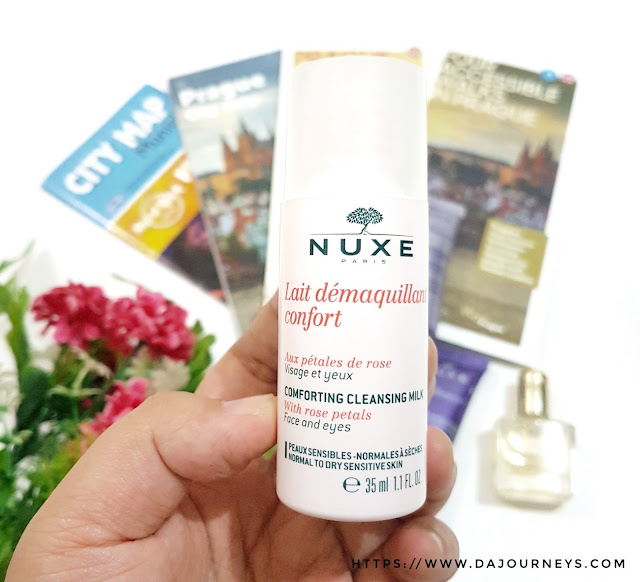 Nuxe Cleansing Milk with Rose Petals review
