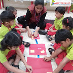 Square Day Celebration by Nursery Section at Witty World Bangur Nagar (2018-2019)