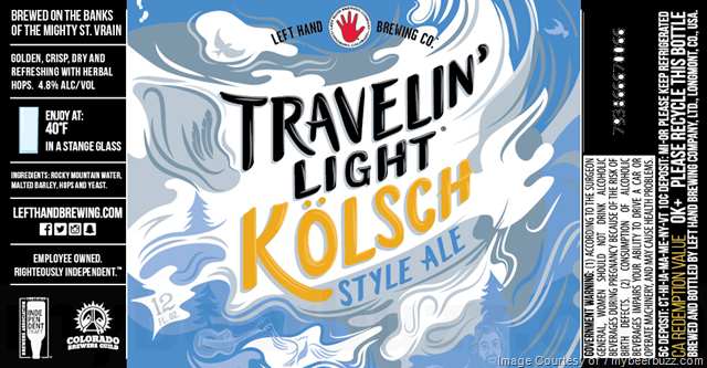 Left Hand - Travelin' Light Kolsch 12oz Cans