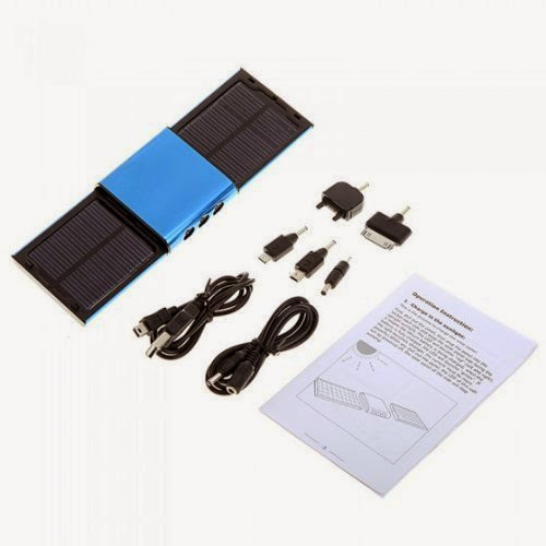 New Choice Portable Wireless Detachable Solar Panel Travel Charger iPhone/iPhone 3G/PSP by AHMET