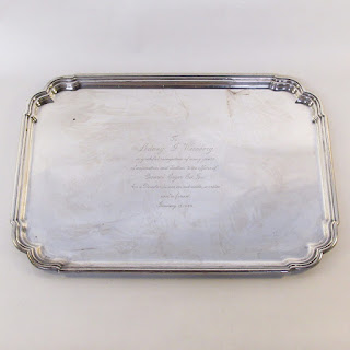 Tiffany and Co. HEAVY Sterling Silver Tray