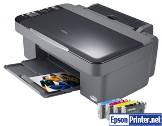 Reset Epson DX4000 printing device with software