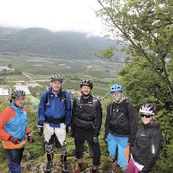 Bike Diana - Rutschig, aber lustig :-)