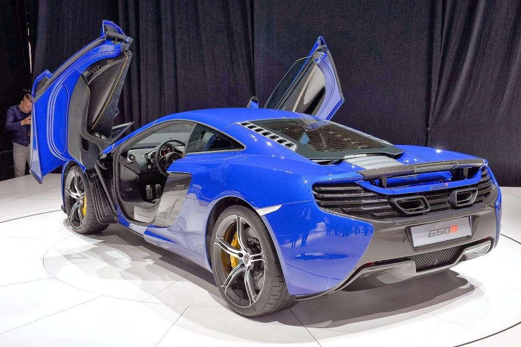 McLaren 650S Spider Geneva Motor Show 14