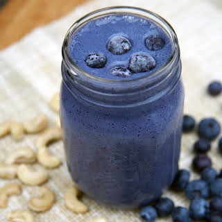 Blueberry Cheesecake Smoothie.