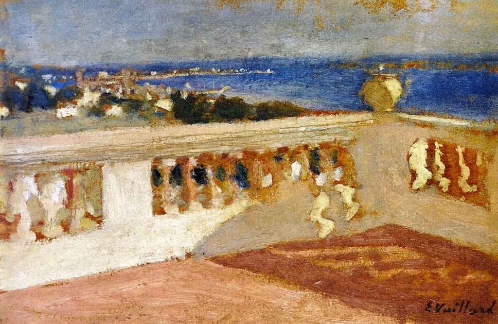 Édouard Vuillard - The Bay of Cannes, Seen from the Terrace