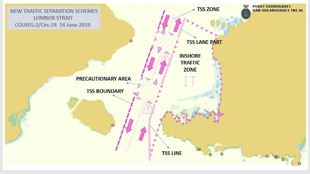 Pushidrosal Siap Songsong Implementasi TSS Selat Sunda dan Selat Lombok pada 1 Juli 2020