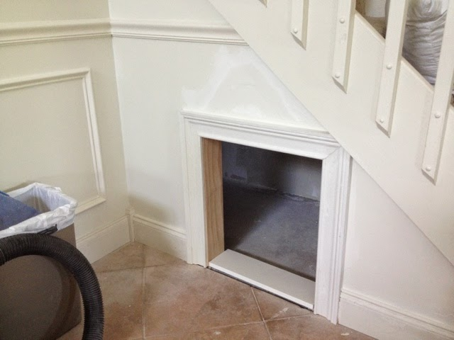 Dog House Built Under Stairs