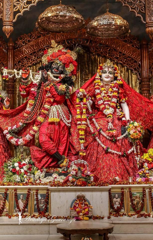 ISKCON Mayapur Deity Darshan 06 Jan 2015 (32)