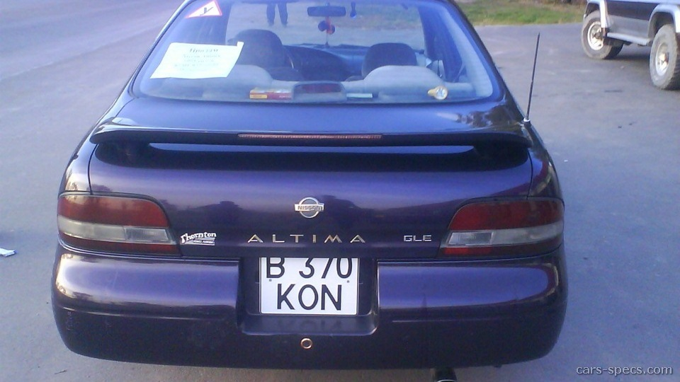 1997 nissan altima sedan specifications pictures prices rh cars specs com 1997 nissan altima manual transmission fluid capacity 1997 nissan altima manual transmission fluid capacity