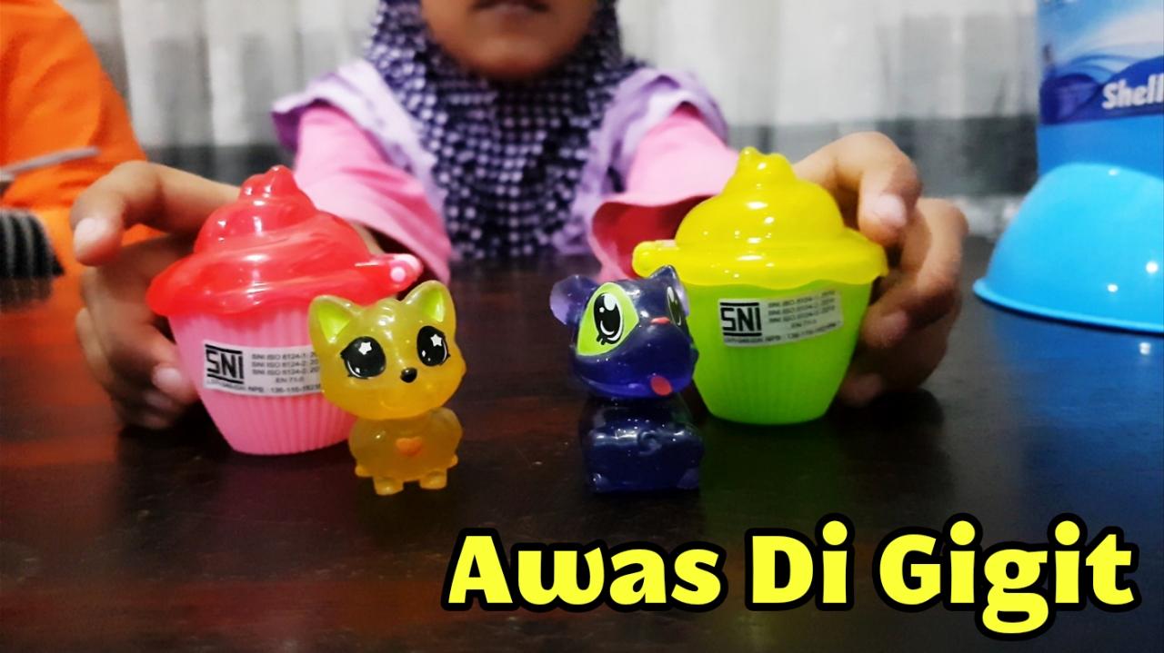 Dapat Kejutan Dari Cupcake Surprise My Precious Pet 💜 Mainan Anak Berisi  Boneka Hewan Lucu Imut a4c9008675