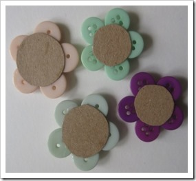button flower pin brooches 4