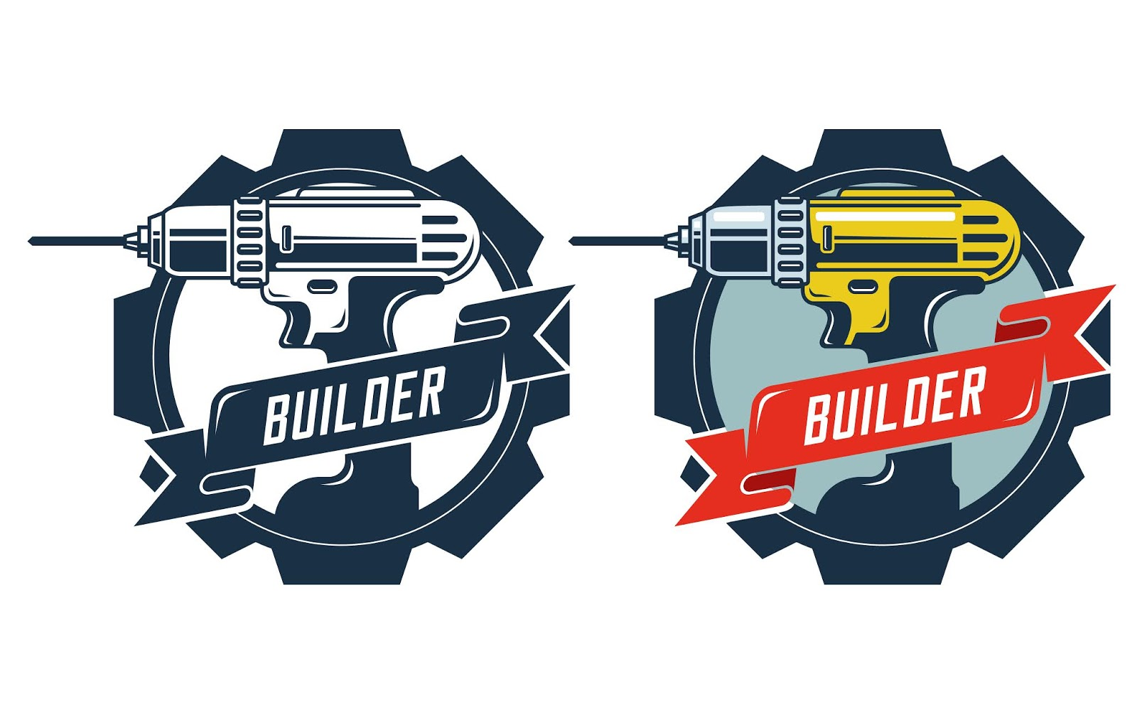 Drill Badge With Signature Builder	 Free Download Vector CDR, AI, EPS and PNG Formats
