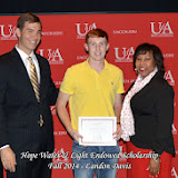 Scholarship Awards Ceremony Fall 2014 - Landon%2BDavis.jpg