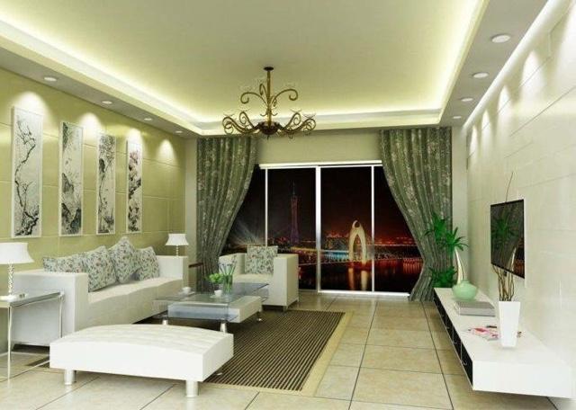 Idea Deko Ruang Tamu dan Ruang Makan Untuk Apartment