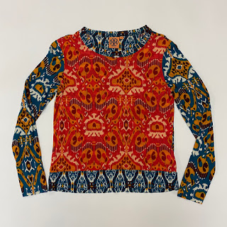 Tory Burch Ikat Top